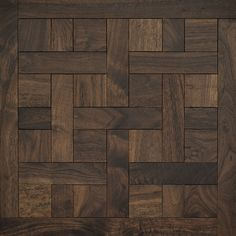 Classic American Walnut | Cheverny Mosaic Wood Floors | Coswick Hardwood Floors