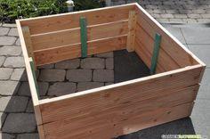 Hochbeet selber bauen » aus Holz » Anleitung mit Bildern