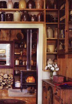 shelves & jars