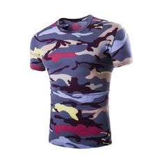 Buy Bay Go Mall Camouflage T-Shirt at YesStyle.com! Quality products at remarkable prices. FREE WORLDWIDE SHIPPING on orders over US$35.