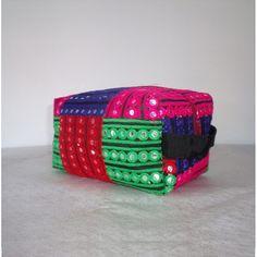 Boxy Bag Knitting Project Bag Makeup Toiletry Bag Travel