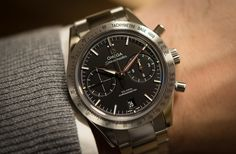 """As I told youhere, Omega had a REALLY strong showing at Basel. Like, shockingly good. How can I tell? Well, I went into the show brimming from ear to ear with the thoughts of nothing but the 50th anniversary of arguably a top three Ben Clymer watch of all time (the Rolex Cosmograph Daytona) and I left thinking not thinking about that at all, and instead """"Wow, Omega had not one but THREE awesome chronographs this year"""". We've already shown youthe Dark Side of the Moon- a fu..."""