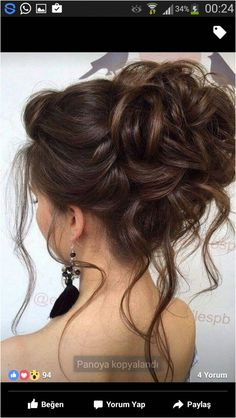 10 Beautiful Updo Hairstyles for Weddings – Frisuren Ideen - beautiful hair styles for wedding Wedding Hairstyles For Long Hair, Wedding Hair And Makeup, Short Hairstyles For Women, Hair Makeup, Trendy Haircuts, Bridal Hairstyles, Hairstyle Wedding, Wedding Nails, Updo Hairstyles For Prom