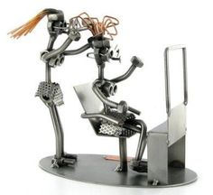 Hairdresser Nuts and Bolts Figure