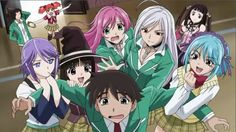 Rosario to Vampire - One of those anime's that you wish had done better and had a bigger fan base so that the studio would churn out some more. The anime strays from the manga a bit so that could be why fans were turned off. Rosario Vampire Season 2, Rosario Plus Vampire, Rosario Vampire Characters, Sailor Moon, Vampire Pictures, Vampire Pics, Vampire Manga, Vampire Photo, Vampire Art