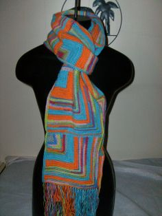 mitered square | Mitered Square Scarf | Flickr - Photo Sharing!