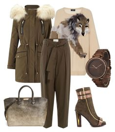 """Wolf"" by glamheartcafe ❤ liked on Polyvore featuring Luichiny, Miss Selfridge, Alena Akhmadullina, 3.1 Phillip Lim, Burberry and Olivia Pratt"