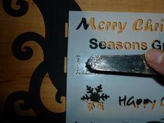 Jennifer's Crafting Rainbows : Let It Snow MDF Santa Sleigh, a' Sneaky Peek.' Mdf Christmas Decorations, Let It Snow, Let It Be, Santa Sleigh, Rainbows, Crafting, Seasons, Seasons Of The Year, Crafts To Make