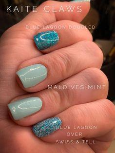 Nail Art Diy, Diy Nails, Manicure, Dry Nail Polish, Nail Polish Strips, Opi Nail Envy, Holiday Nail Art, Classy Nails, Mint Blue