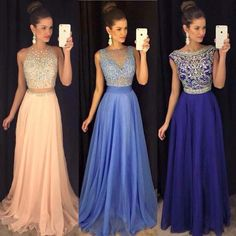 Blue dress is perfect! Grad Dresses, Homecoming Dresses, Blue Dresses, Bridesmaid Dresses, Formal Dresses, Wedding Dresses, Yes To The Dress, Kawaii Fashion, Party Fashion