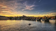 Sunset in the Czech Republic