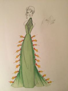 Fashion Illustration Desert Collection