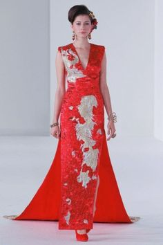 Guo Pei Ci Spring Summer Couture 2013 Singapore