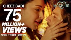 Cheez Badi Video Song | Machine | Mustafa & Kiara Advani | Udit Narayan ...
