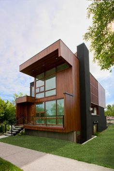 Wrap House, Alberta, Canada by Marc Boutin