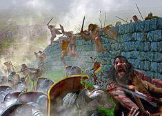 Battle Hadrian's Wall Picts vs Romans