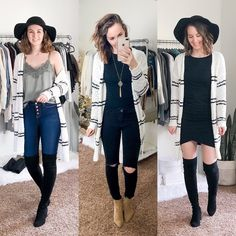 I'm not sure how January feels like it goes by so quick but drags on forever. Anyway, here is a round up of my January… Business Casual Womens Fashion, Business Casual Outfits, Business Fashion, Cute Sweater Outfits, Sweater Fashion, Cute Outfits, Simple Style, Classic Style, Cold Weather Fashion