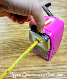Best Pencil Sharpener. EVER.