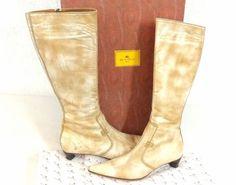 ETRO-italienische-Damen-Luxus-Designer-Leder-Stiefel-Gr-39-Boho-Hippie-Schuhe