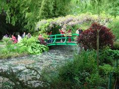 Claude Monet's Gardens, Giverny, France - via The 12 Most Beautiful Botanical Gardens in the World