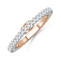 Garland Eternity Ring #Angara