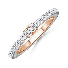 Garland Eternity Ring #Angara