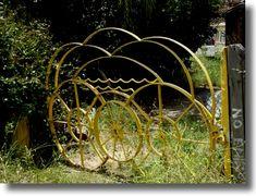 39 Arts In Scraps 39 On Pinterest Junk Art Garden Junk And Garden Art