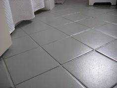 1000 images about paint for bathroom floor on pinterest for Paint old linoleum floor