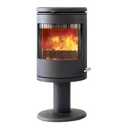 The wood burning stove Morsø 7648 is a convection stove on a cast iron pedestal. Convection Stove, Wood Fireplace, Fireplaces, Wood Burning, Pedestal, Cast Iron, Tiny House, Home Appliances, Indoor