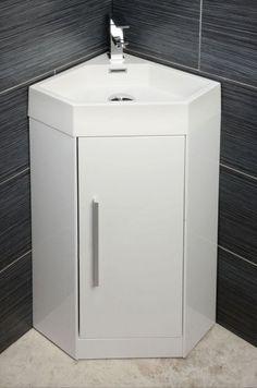 Bathroom Cabinets Corner Unit saneux quadro corner vanity unit 40 x 50 cm | bathroom | pinterest
