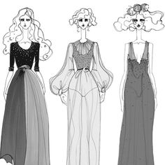 Fashion illustration // Issa Grimm