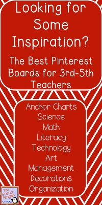 The Science Penguin: The Best Pinterest Boards for 3rd-5th Teachers
