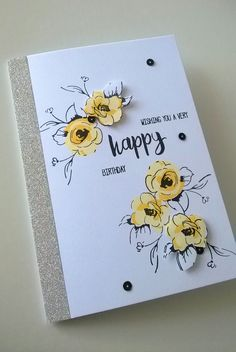 Made by Terri Koszler - This card was made using the painted flowers stamp set…