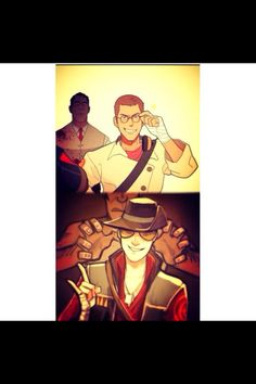 Scout as medic and sniper