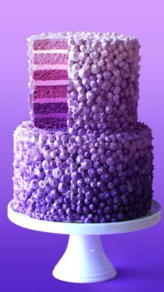 Cakes To Make, How To Make Cake, Cake Decorating Videos, Cake Decorating Techniques, Cake Decorating Frosting, Crazy Cakes, Beautiful Cakes, Amazing Cakes, Rain Cake