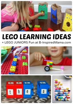 Awesome LEGO Learning Activities - B-Inspired Mama