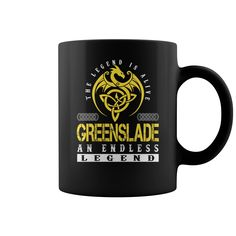 The Legend is Alive GREENSLADE An Endless Legend Name Mugs #Greenslade