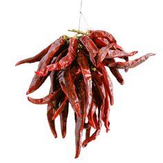 Guindilla Ristra 30 peppers I Brindisa Spanish Foods crumbled into rice, paella.