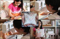 Meet Alyssa and Michaela! Sewing with children