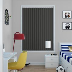 Vitra Licorice Vertical Blinds - Make My Blinds