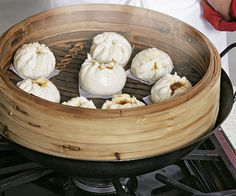Cooking teacher, chef, and author Eileen Yin-Fei Lo shows you how to make a Chinese dim sum specialty: fluffy buns filled with sweet-and-savory barbecued pork.