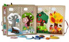 Quiet Book/toys/busy book/todler busy book/felt