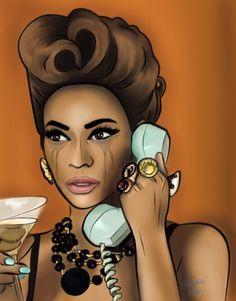 Beyonce Art