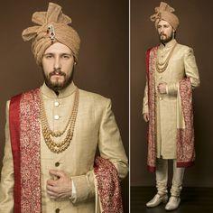 Designer Wedding Groomswear In Noida #WeddingDresses #MensSherwani #WeddingSherwani Mobile No. 9350301018 Email:- designlablotus@gmail.com http://puneetandnidhi.com