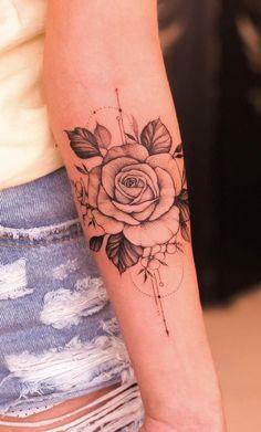 Feminine tattoos on the arm: The 80 best ideas. - Photos and Tattoos - Feminine. - Feminine tattoos on the arm: The 80 best ideas. – Photos and Tattoos – Feminine tattoos on the - Body Art Tattoos, Hand Tattoos, Girl Tattoos, Sleeve Tattoos, Female Tattoos, Symbols Tattoos, Tatoos, Best Arm Tattoos, Tattoo Half Sleeves
