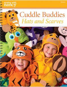 Designer Nancy Zieman Shares Adorable Cuddle Buddies Hats and Scarves | Nancy Zieman Blog