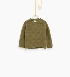 Textured sweater - Available in more colours