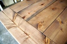 Weathered oak over special walnut-- Rustic Yet Refined Wood Finish | Ana White