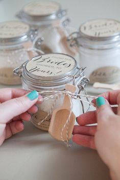 DIY Bridal Shower #BridalShowerFavors