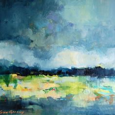erin gregory Abstract Grey Sky